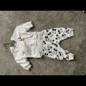 Mickey Mouse sweatsuit!